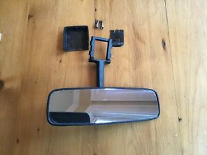 71 72 73 74 75 Toyota Celica Rearview Rear View Mirror Black Oem