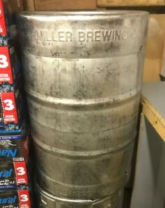 Beer Keg 1 2 Barrel Used Empty Stainless Steel 15 5 Gallon Sankey D Tap