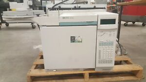 Agilent Hp 6890 Gas Chromatograph Loaded S sl Inlet Autosampler Tray Gc