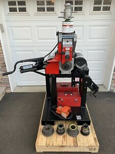 Victaulic Ve450fsd Hydraulic Vic Roll Groover 4 24 Grooving Ridgid 920 300 918