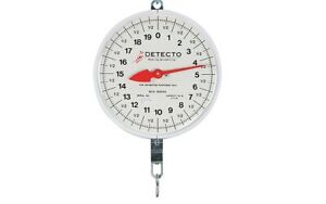 Detecto Mcs 40h Hanging Dial Scale With Hook 40 Lb X 2 Oz