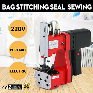 220v Industrial Bag Stitching Closer Seal Sewing Machine Electric Packaging Tool