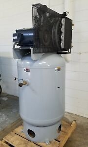 Gardner Denver Vertical Tank Mount Air Compressor Used Am18226