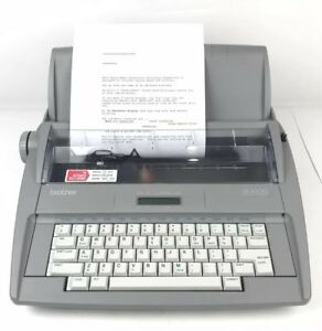 Brother Sx 4000 Electronic Typewriter Tested Working Ready To Use