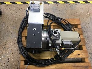 Haas 4th 5th Axis Rotary Table And 5c Indexer Hrt210h Ha5cb Brushless