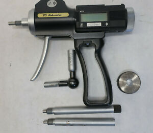 Fowler Bs Holematic Mk Ii 6 20mm Pistol Grip Bore Gauge Rt Angle Exts Set Ring