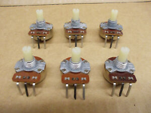 5k Ohm Audio Taper Pot Cts Brand Nos 1986 Lot Of 6 Ships Free From Ohio