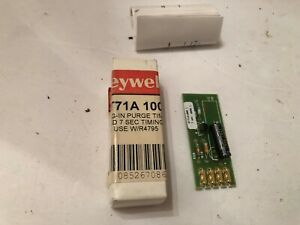 New In Box Honeywell St71a1000 Plug In Purge Timer 7 Secs Free Ship