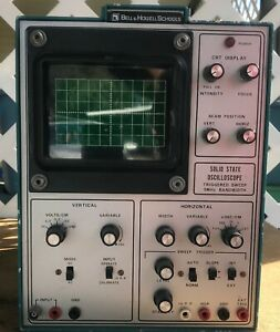 Bell Howell Schools Vintage Single Trace Oscilloscope