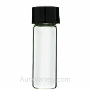 288 Bottles 2 Dram Glass Vials Sample Drum W Coned Cap 1 4 Oz 7 4 Ml Free Ship