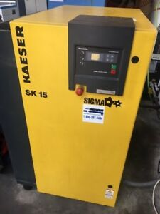 Kaeser Aircenter Sk 15 Screw Compressor Refigerated Dryer Air Receiver
