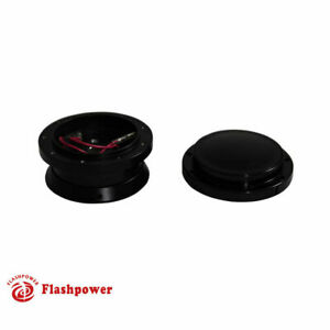 9 Bolt Steering Wheel Adapter And Horn Button Ford Mustang Black