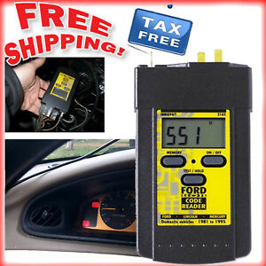 Ford Obd1 Code Reader Scanner Digital Electronics Ford Scan Tool Mechanic