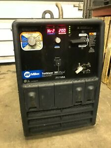 Miller Trailblazer 302 Diesel Welder Generator Only 2200 Hours Will Ship