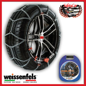 Snow Chains Weissenfels M37 Tecna Sette Gr L080 7mm 205 60 R15 205 60 15