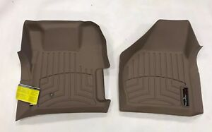Weathertech Floorliner For Ford Super Duty 2008 2010 1st Row Tan