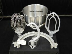 Hobart 60 Qt To 30 Qt Mixer Step Down Reducer Ring Set Bowl Paddle Whip Whisk
