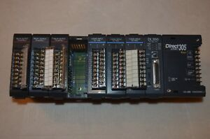 Koyo Direct Logic Automation Direct D3 08b Cpu D3 350 Whit Modules