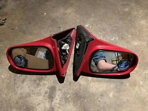 96 97 98 99 00 Honda Civic Automatic Side Mirror Set Pair Oem