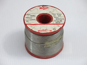One Vintage Multicore Solder 60 40 1 22mm 500g Nos tube Amplifier Diy