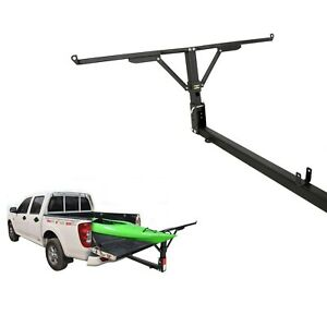 Foldable Pick Up Truck Bed Tailgate Extender Extension Rack 2 Hitch Receiver