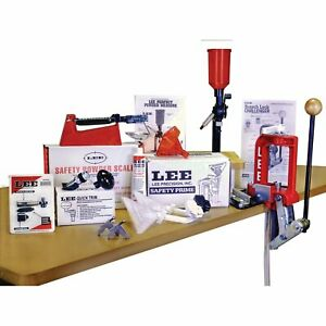 Lee Challenger Breech Lock Single Stage Press Anniversary Kit Reloading #90050