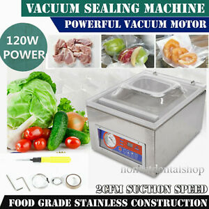Commercial Automatic Vacuum Sealer Food Sealing Packing Machine Dz 260c 110v Usa