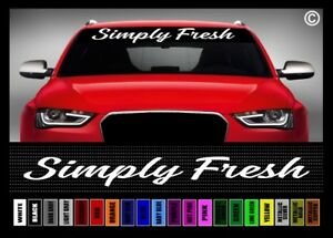 40 Simply Fresh Jdm Street Racing Clean Car Decal Sticker Windshield Banner