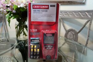 Craftsman 82114 Vdv Voice data video Pro Tester Tool Detects Opens shorts split