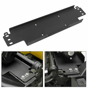 For 1987 2006 Jeep Wrangler Yj Tj Recovery Winch Mounting Plate Bracket 12000 Lb