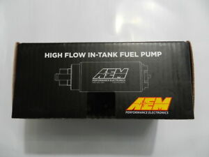 New Aem High Flow In Tank Universal Fuel Pump 320 Lph Up To 1000hp 50 1000