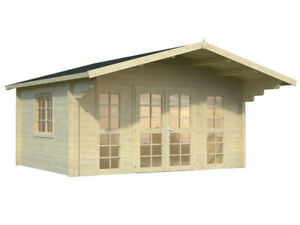 Bzbcabins com Log Cabin Kit Pool Or Garden House 14 4 X 11 4 162 Sq ft