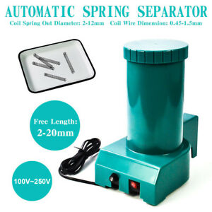 100 250v 2 20mm Free Length Automatic Spring Separator Spring Separating Machine
