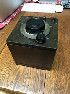 Antique General Radio Co Variable Air Condenser Type 239 e Serial No 1117