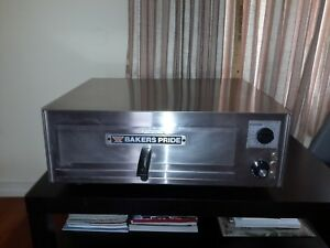 Bakers Pride Countertop Electric Oven Pizza Oven Baking Warming Model Px 16 Used