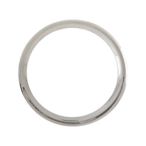 Model A Ford Wheel Trim Ring Set 19 5 Pieces Smooth Stainless Steel