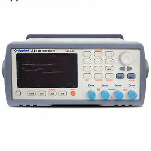 Dc Low Resistance Tester At510l 510 510pro High Accuracy Micro ohm Meter