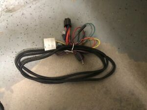 Western 61546 Fisher Snow Plow Harness New Relay Type For 2b 2d Headlights