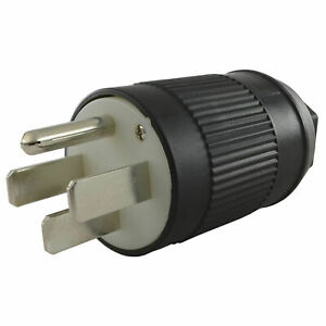 50 amp Assembly Rv Plug With Nema 14 50p Male End Lot Of 1