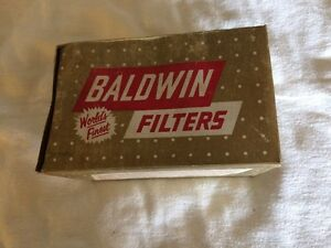 Vintage Baldwin P 25 Engine Oil Filter New Old Stock Collection Item