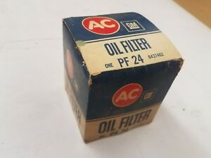 Nos Gm Ph 24 Embossed Oil Filter Correct Early Vintage Filter Gto 442 Gs