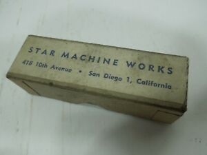 Vintage Star Reloading Cast Bullet Lubricator Sizing Die .452 & top punch in box