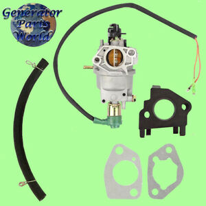 A ipower Carburetor W Solenoid Gaskets For Sua9000e 7250 9000 14hp Generator