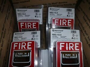 15 Notifier Nbg 12lx Fire Alarm Pull Stations