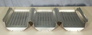 Pelton Crane Sterilizer Tray Lot Of 3 r16