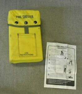 Wildland Fire Shelter In Yellow Case 103456 1 H