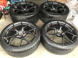 Acura Nsx Stock Oem Factory Wheels Rims 5x120 Forged 19 20 W Tires Rare Track