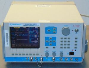 Motorola R 2670b R2670b Fdma Communications Analyzer With Options