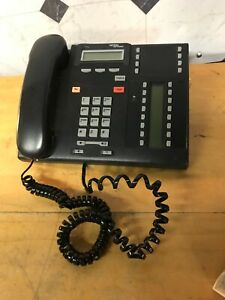 Qty 3 Nortel Networks Desk Office Business Phone Nt8b27aaba Nt8b27aaam T7316