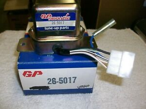 Voltage Regulator Gp Sorensen 26 5017 Fits 72 74 Gm Luv Trucks